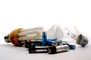 Recycling of Compact Fluorescent Lamps, Ballasts, and Batteries